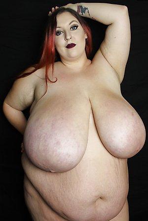 Pretty fat white mature