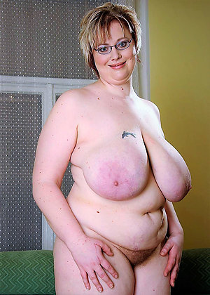 Naked old mature bbw