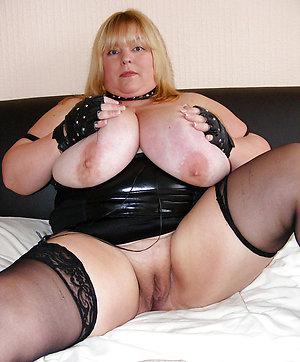 Real blonde bbw pussy