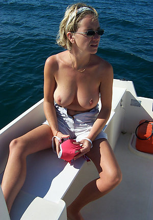 Real big tits at beach
