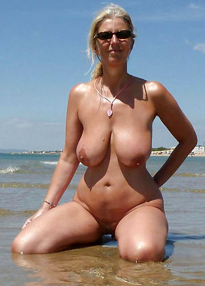 Amateur pics of mature naked beach