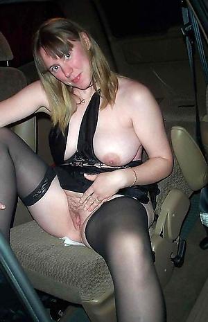 Cranky mature fucked in car porn pics
