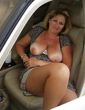Busty amateur mature auto porn