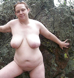 Hot unconforming naked women big tits