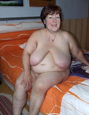 Naked elder statesman women respecting big tits