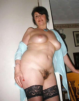 Naked single full-grown women