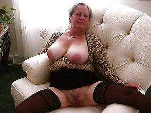 Naked mature european