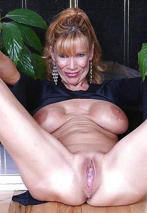 Naked grown-up hairy vaginas