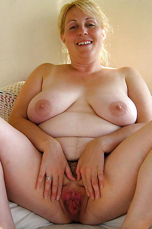 Horny mature hairy vaginas