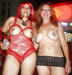 Amateur mature women group sex