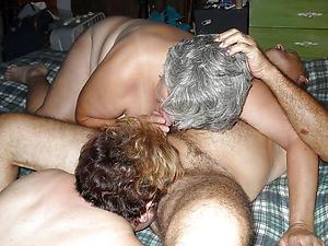 Mature amateur group sex