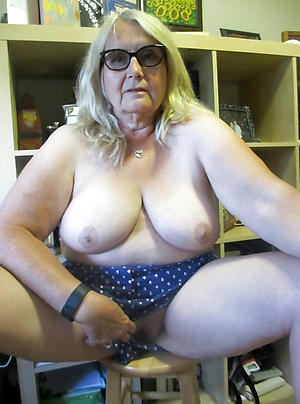 Surprising sexy grandmother