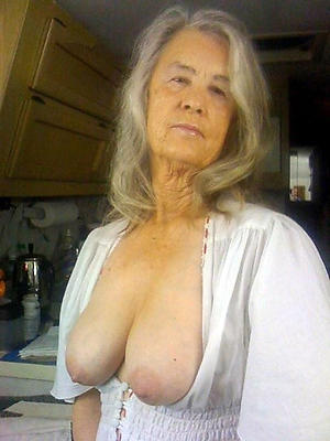 Inexperienced sexy grandmother