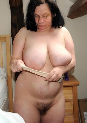 Nude dispirited grandmother porn