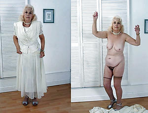 Amateur wife before and after