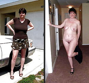 Amazing mature before and after