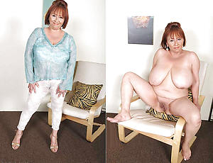 Horny mature before and after