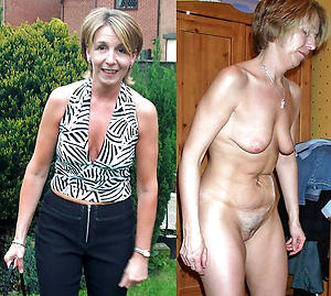 Busty mature before and after