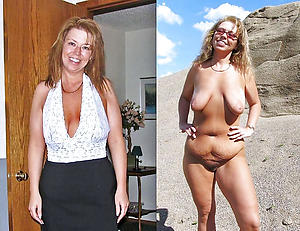 Sweet mother before and after