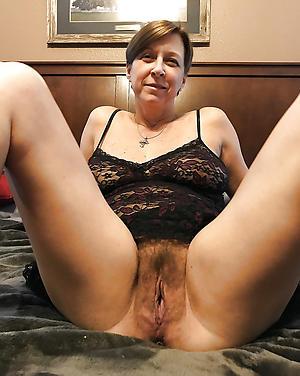 Slutty hairy cunt mature