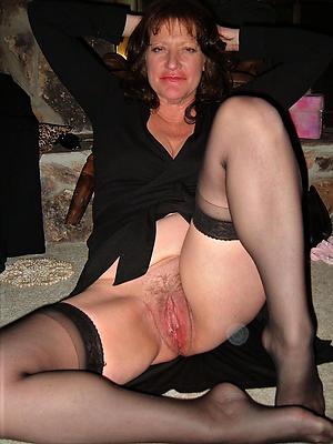 Nude natural boobs mature
