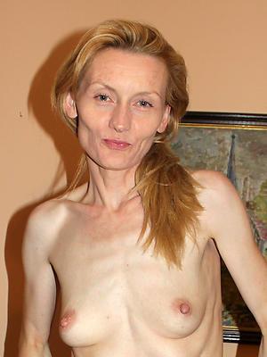 Slutty skinny mature making love pics