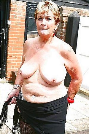 Real sexy grandma tits