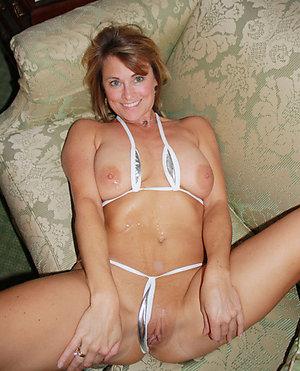 Sweet sexy older women in bikinis