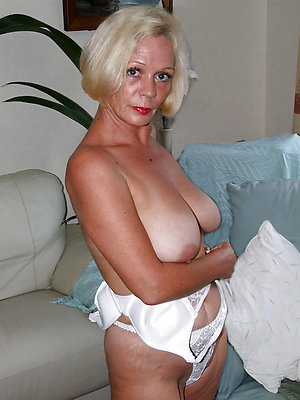 Sexy crazy blonde lady