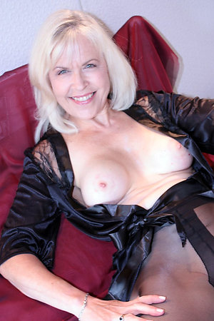 Gorgeous older blonde women