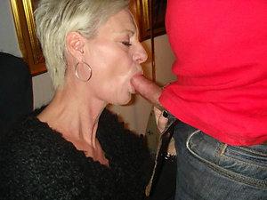 Free pics of hot mom blowjob