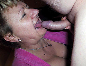 Inexperienced  busty mom blowjob photos