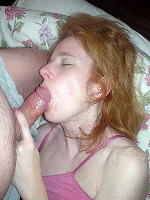 Busty naked older women giving blowjobs