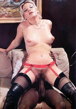 Nude vintage grown up women