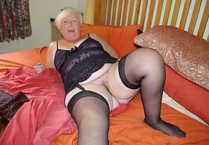 Busty mature older woman