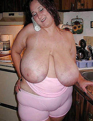 Naked hot busty mature photo