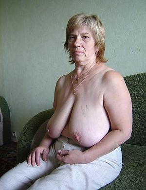 Xxx naked older mature granny