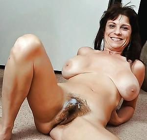 Pretty mature hairy nude women
