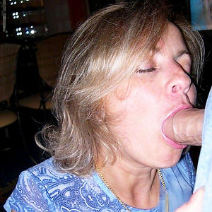 Handsome mature lady blowjob pictures