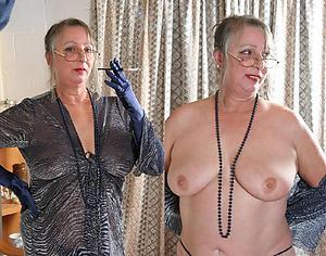 Slutty dressed undressed mature