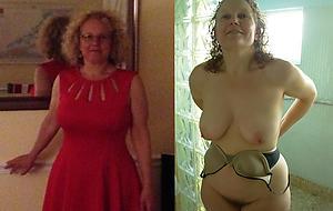 Xxx dressed undressed mature pictrues