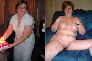 Amateur pics be required of mature dressed and undressed