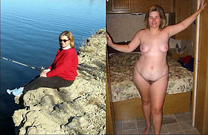 Scant mature dressed and undressed pics