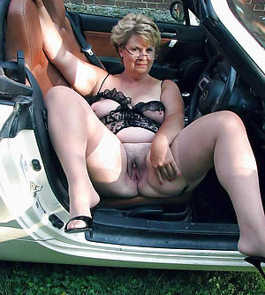 Handsome mature car porn photo