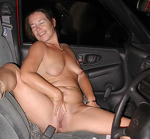 Inexperienced mature car porn photo