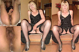 Naked mature wife upskirt