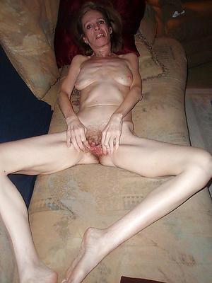 Skinny grown-up solo free porno