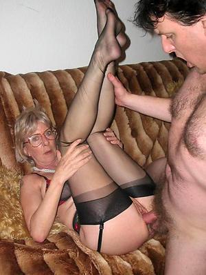 Hot porn of mature milf bonk