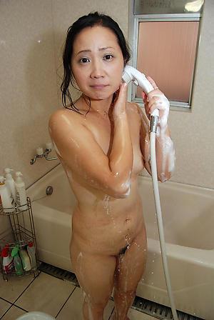 Naughty asian grown up amateur unclad photos