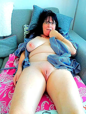 Naughty shaved mature cunts